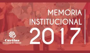Memoria Cáritas Tenerife - 2016