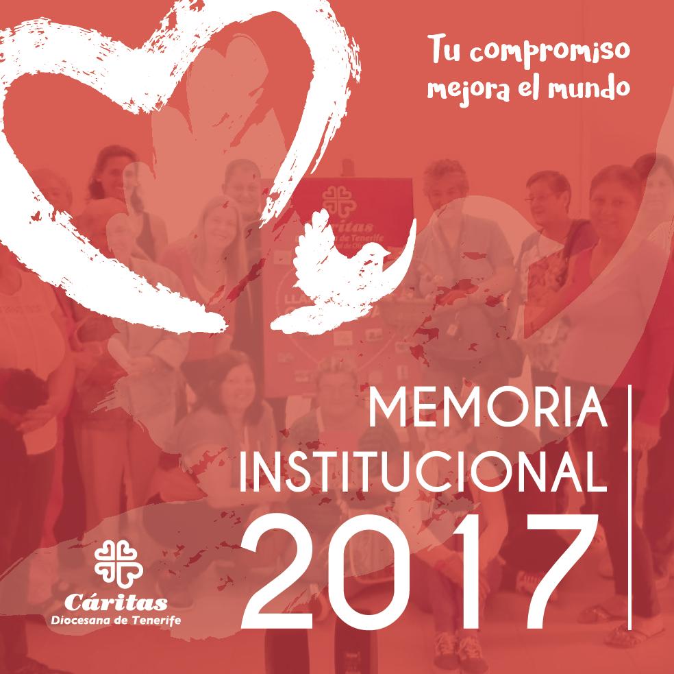 Portada de la Memoria 2017