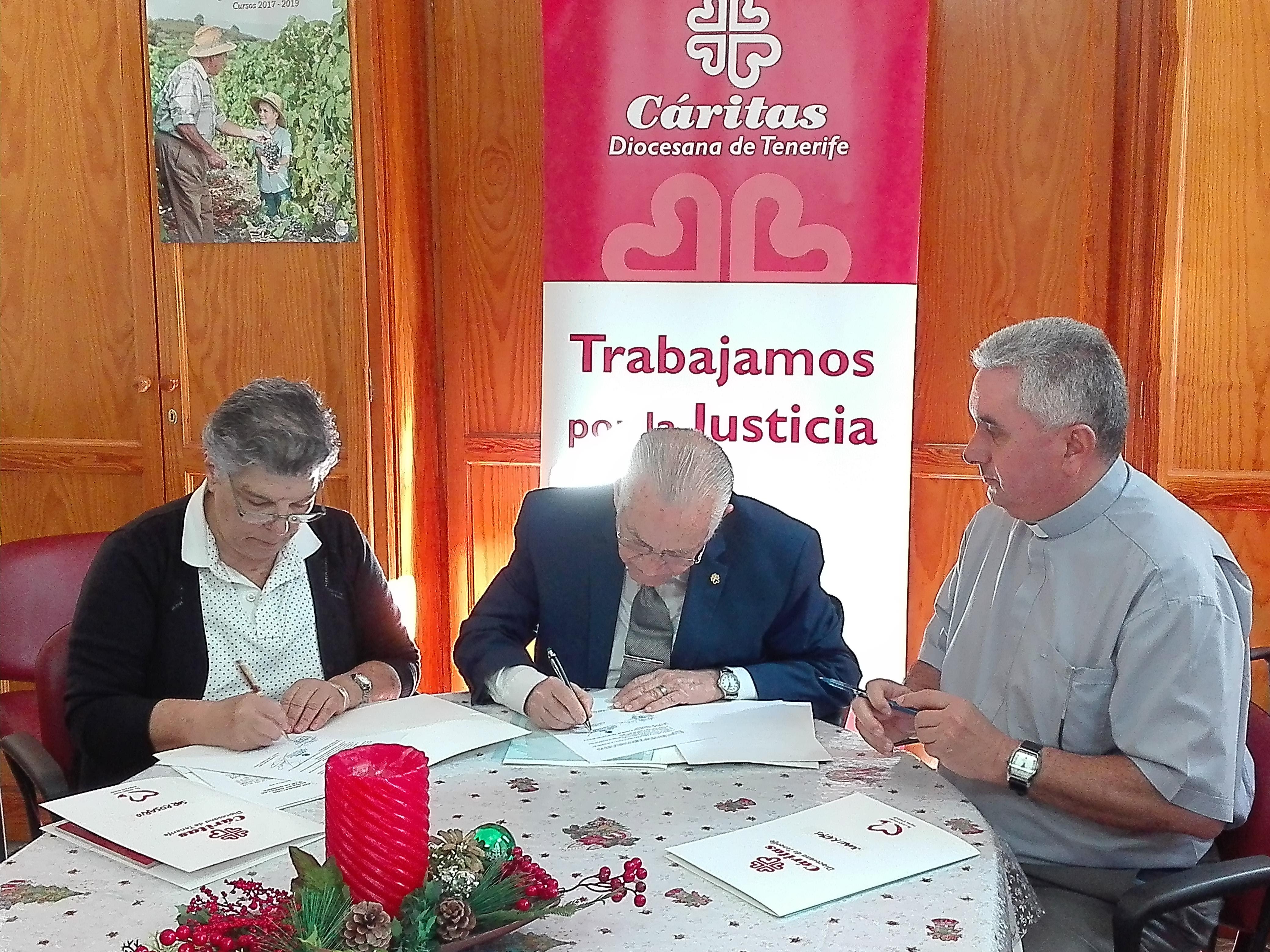 Firma convenio La Gomera