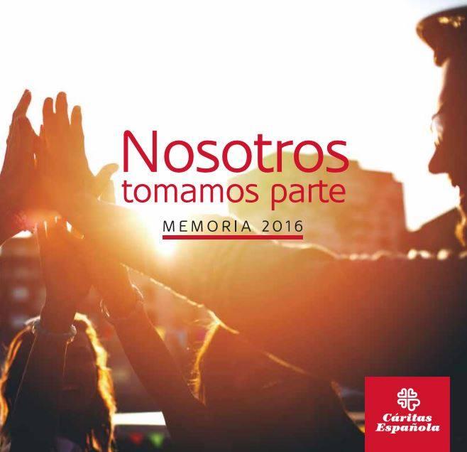 Memoria Cáritas Española 2016