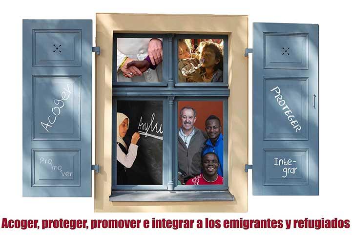 cartel Jornada Mundial Migrantes y Refugiados