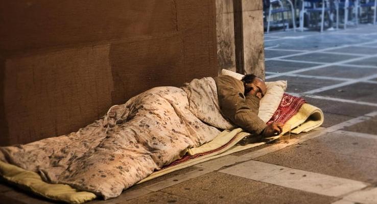 sin hogar la palma