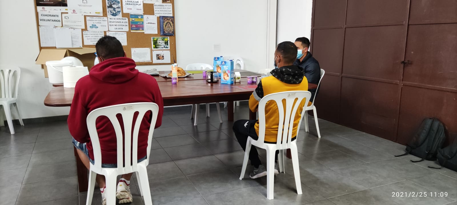 migrantes UMAC La Palma