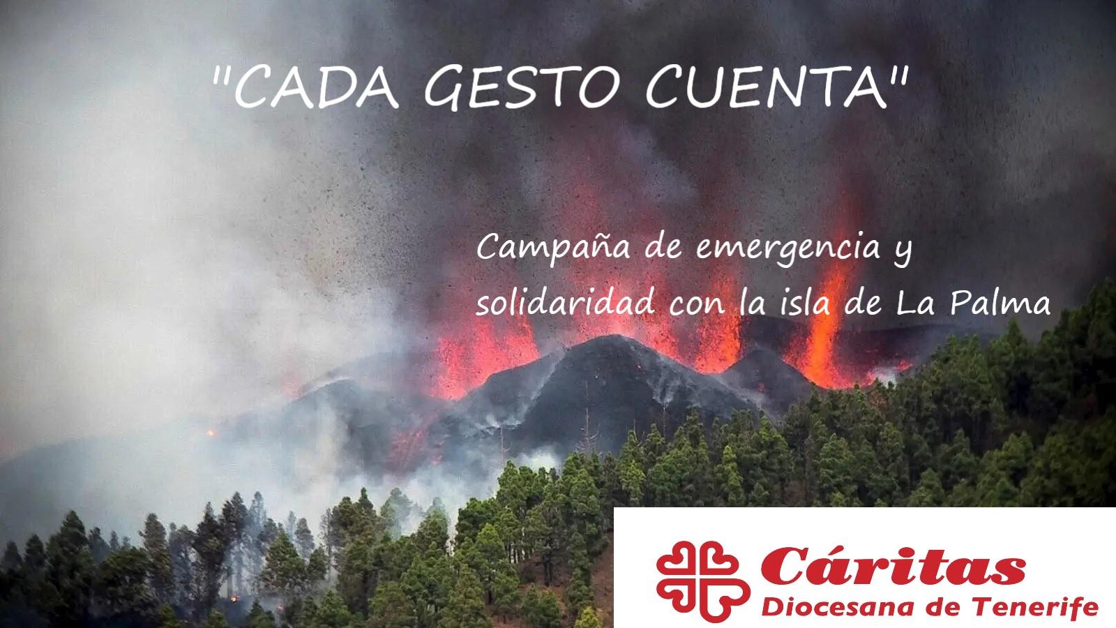 campaña solidaridad La Palma